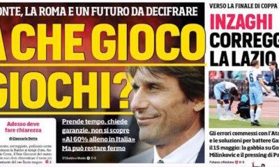 Rassegna stampa, Corriere dello Sport-Roma 7 maggio 2019