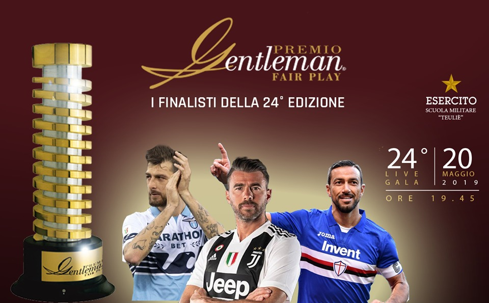 Acerbi candidato Premio Gentleman Fair Play 2019