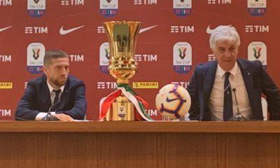 Finale Coppa Italia, Gasperini e Gomez