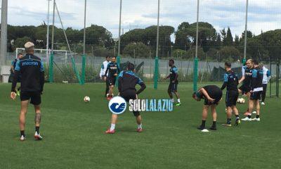 Continua la preparazione per il Cluj: domani la Lazio in campo alle ore 16
