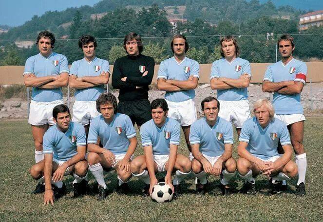 La Lazio ricorda il primo, leggendario scudetto del 1974