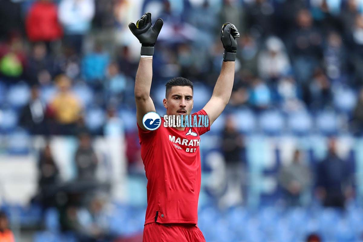 Lazio-Atalanta, Thomas Strakosha