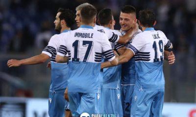 Lazio, questo spirito di gruppo è bellissimo! (FOTO)