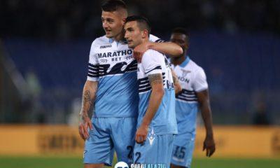Lazio-Bologna, Sergej Milinkovic e Danilo Cataldi