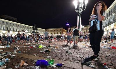 Il panico a piazza San Carlo