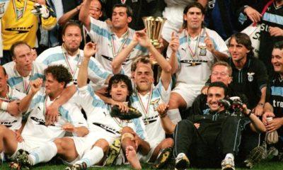 Lazio terza coppa italia