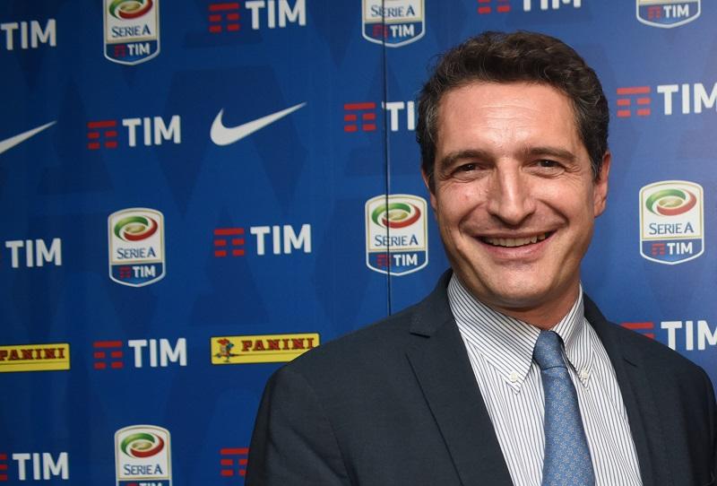 l'Ad della Lega Serie A