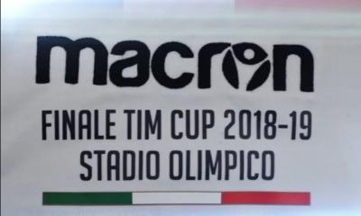 Finale Coppa Italia, la maglia celebrativa