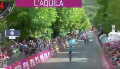 Giro d'Italia, bandiera laziale