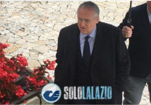 Il presidente della Lazio