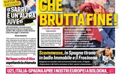 L'edizione romana del Corriere dello Sport
