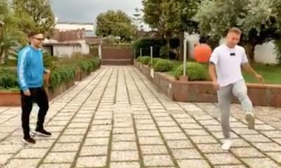 Ciro Immobile e Rocco Hunt