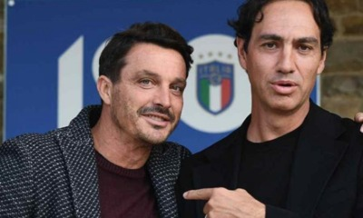 Massimo Oddo e Alessandro Nesta