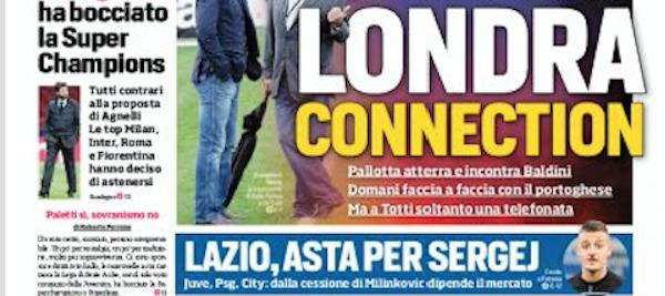 Rassegna stampa, Corriere dello Sport-Roma 11 giugno 2019
