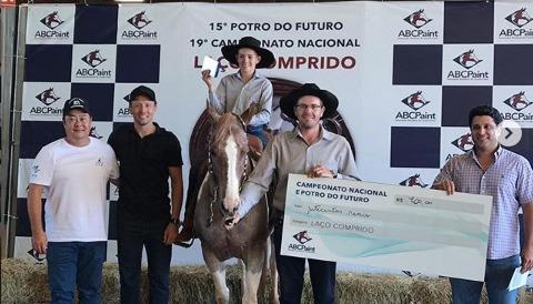 Lucas Leiva, rassegna cavalli Brasile