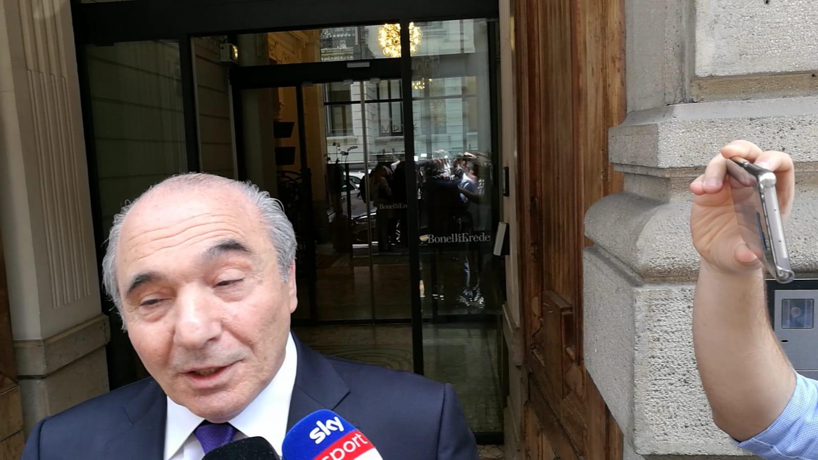 """I complimenti di Commisso alla Lazio: """"C'è tanto da imparare"""""""