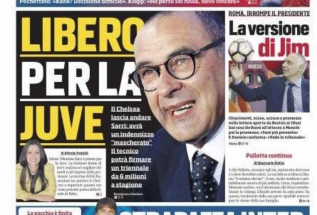 Rassegna stampa, le prime pagine dei quotidiani sportivi (FOTO)