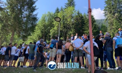 Lazio tifosi Auronzo