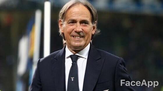 FaceApp Lazio, Simone Inzaghi
