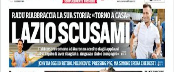Rassegna stampa, Corriere dello Sport-Roma 16/07/2019