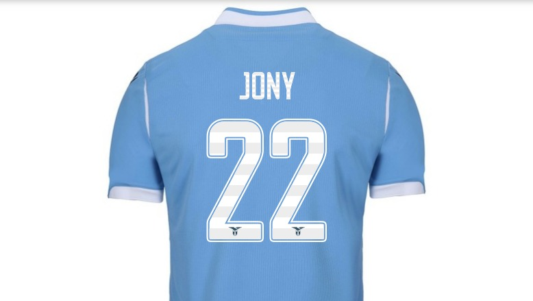Lazio numeri maglia, Jony