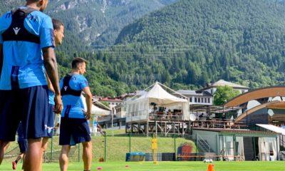 Lazio ritiro Auronzo