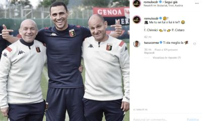 Romulo e la maglia del Genoa: Correa risponde (FOTO)