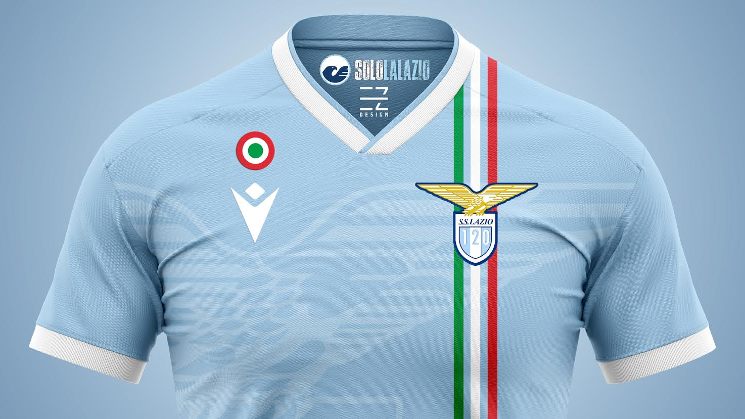 Lazio, concept EZdesign Supercoppa 120 anni