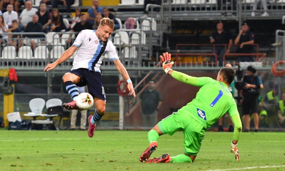 Sampdoria-Lazio Immobile gol
