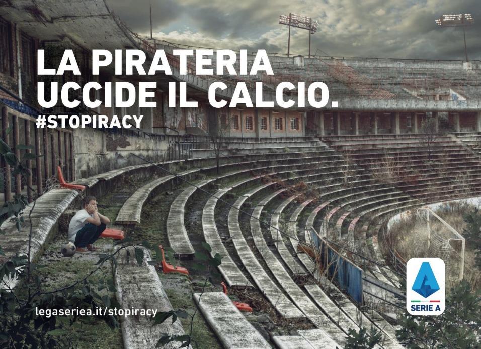 #Stopiracy campagna Lega Serie A