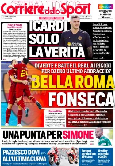 Lazio, Corriere dello Sport:
