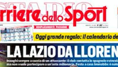 Rassegna stampa, Corriere dello Sport-Roma 18-08-2019