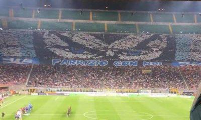 Diabolik scenografia Curva Nord Inter