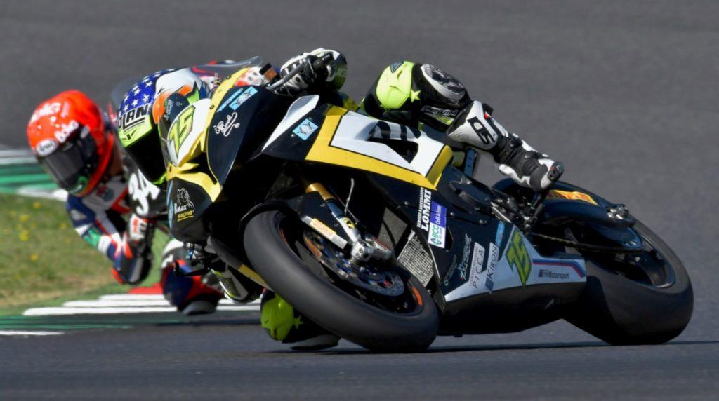 Lazio Motociclismo, il pilota Francesco Cocco