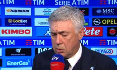 Napoli-Ancelotti