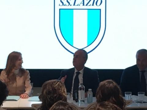 Lazio Women, Lotito presentazione