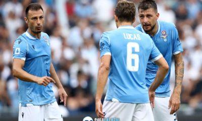 Lazio, Stefan Radu, Francesco Acerbi, Lucas Leiva
