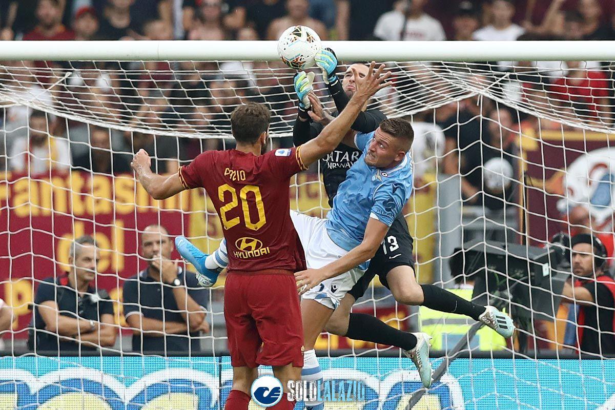 Lazio - Roma, Milinkovic e Pau Lopez