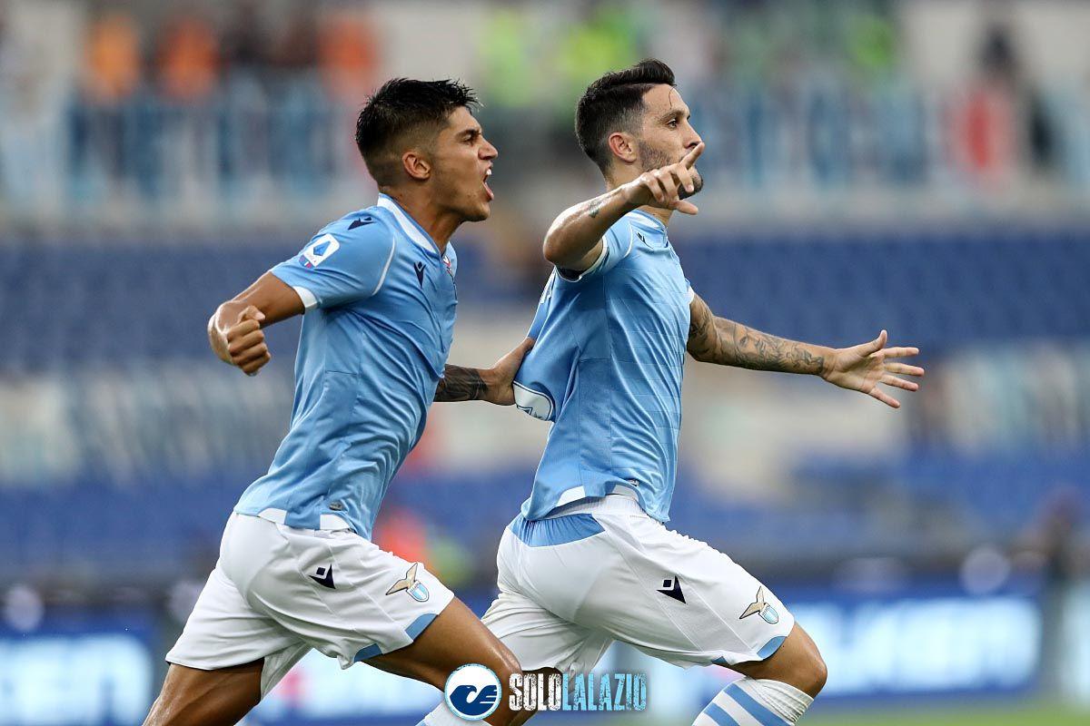Lazio - Roma, gol Luis Alberto