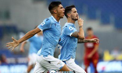 """Lazio, GdS: """"Biancocelesti spettacolo nel derby capitolino"""""""