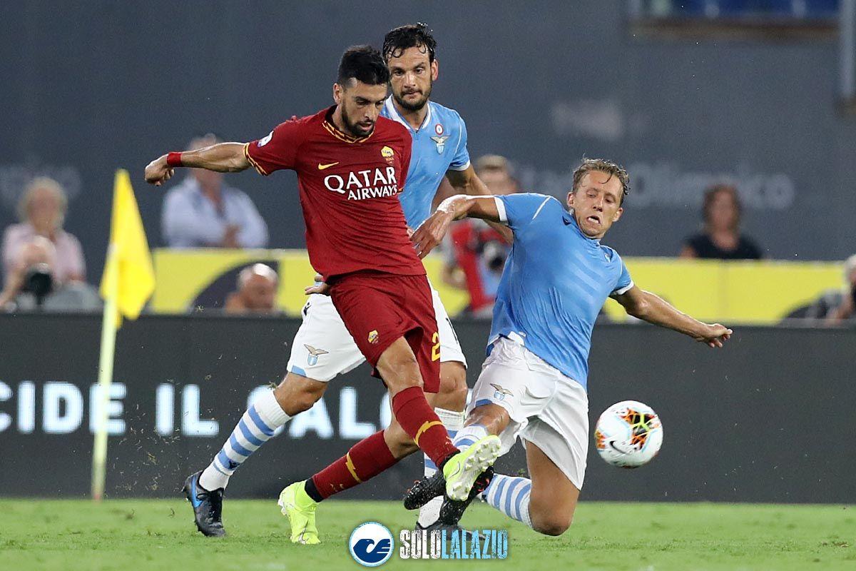 Lazio - Roma, Lucas Leiva e Pastore