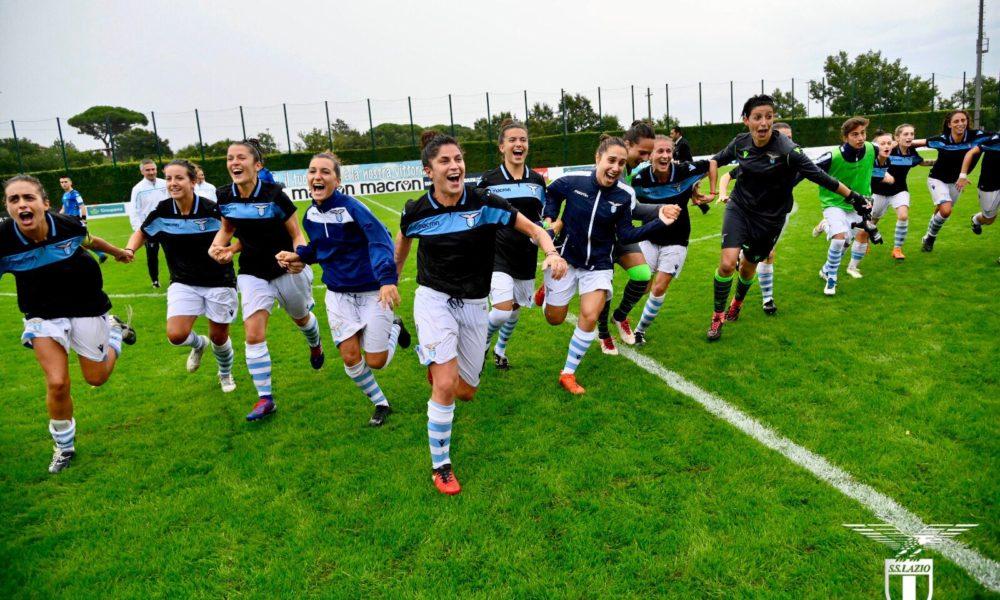 Lazio Women, si lavora in vista della sfida contro il Napoli