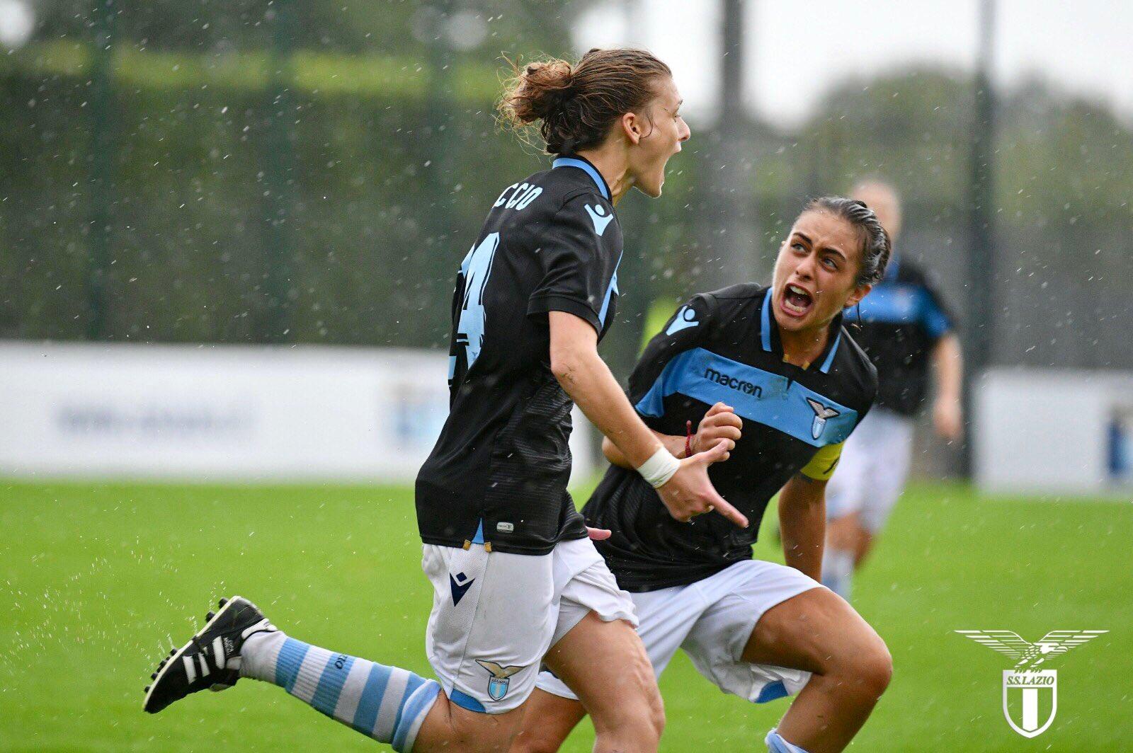 Lazio Women, secondo posto in classifica e aria di promozione