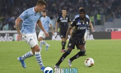 Lazio - Parma, Sergej Milinkovic e Gervinho