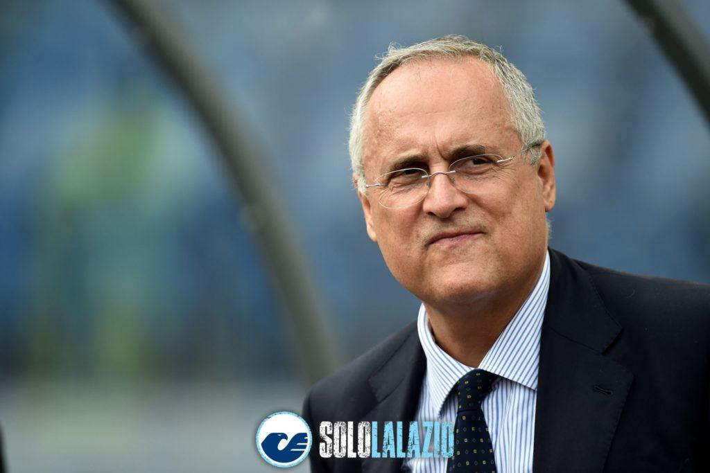 Lazio - Genoa, Claudio Lotito