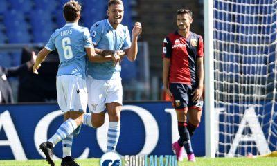 Lazio - Genoa, Milinkovic e Leiva