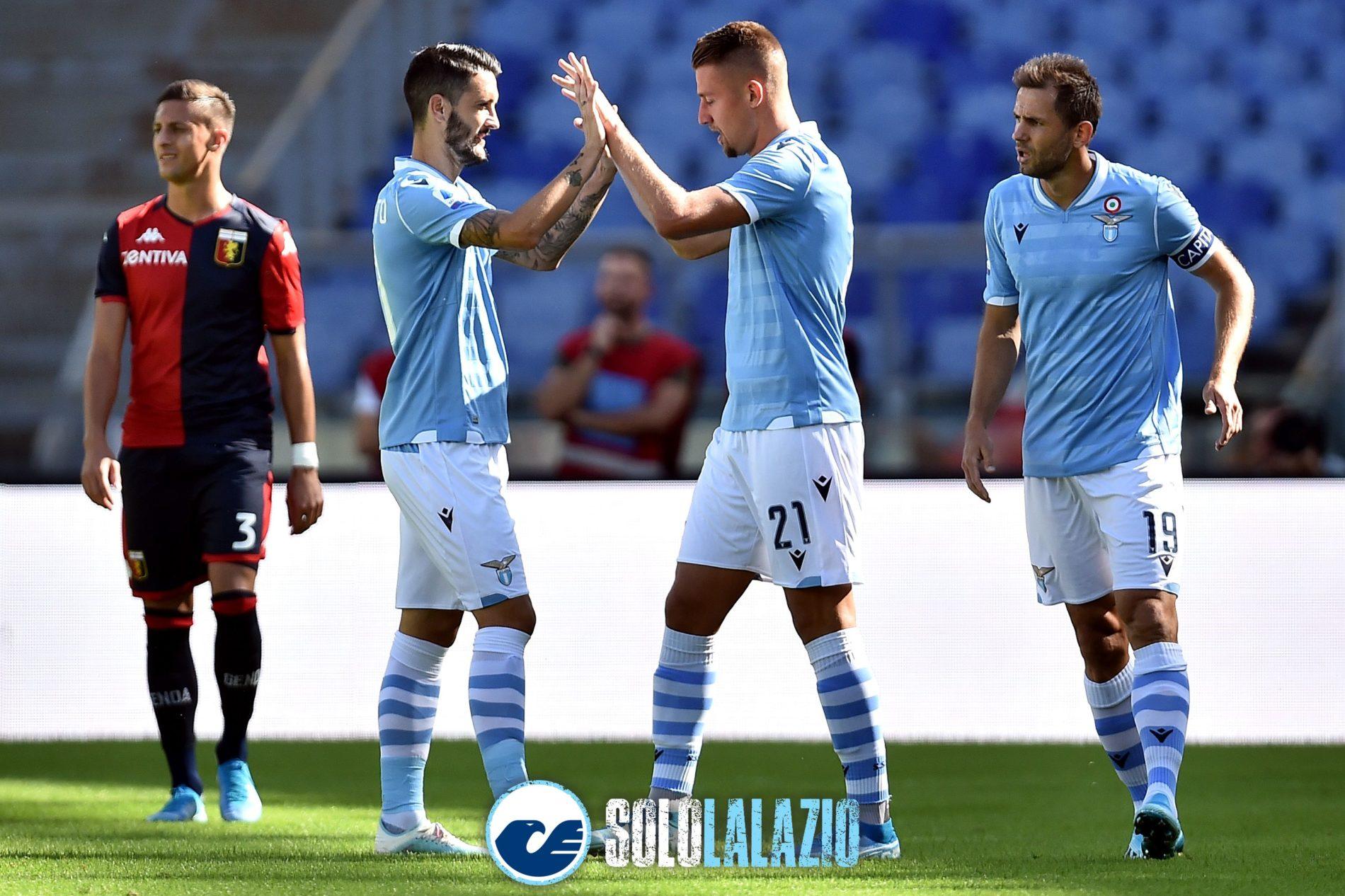 Lazio - Genoa, Luis Alberto e Milinkovic