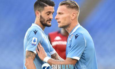 Lazio - Genoa, Immobile e Luis Alberto