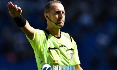 Lazio - Genoa, Luca Pairetto
