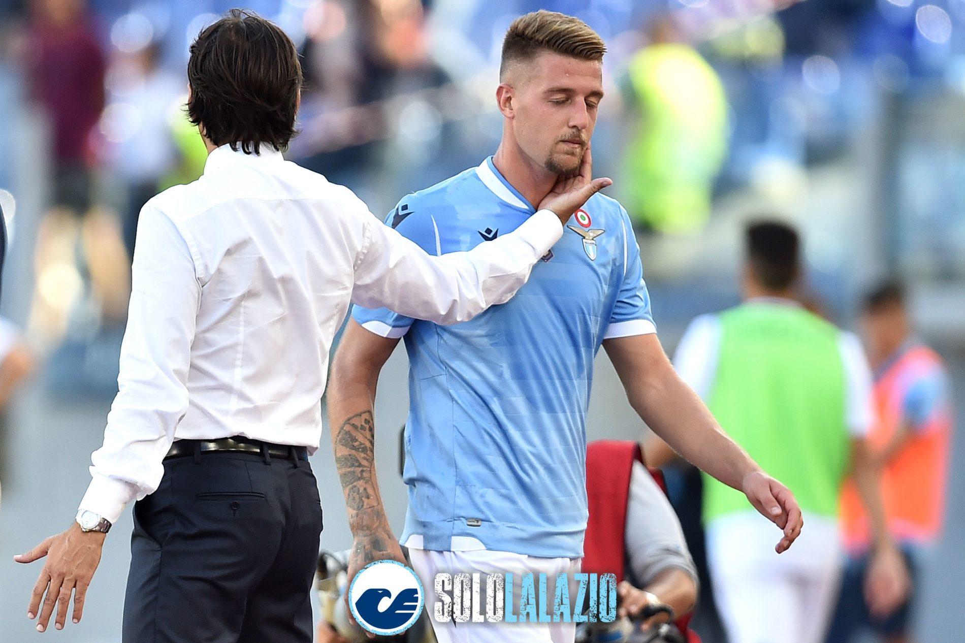 La prima pagina del Corriere dello Sport (ed. Roma)